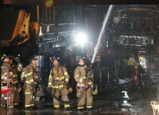 Bauman Bus Garage Fire In Yorktown