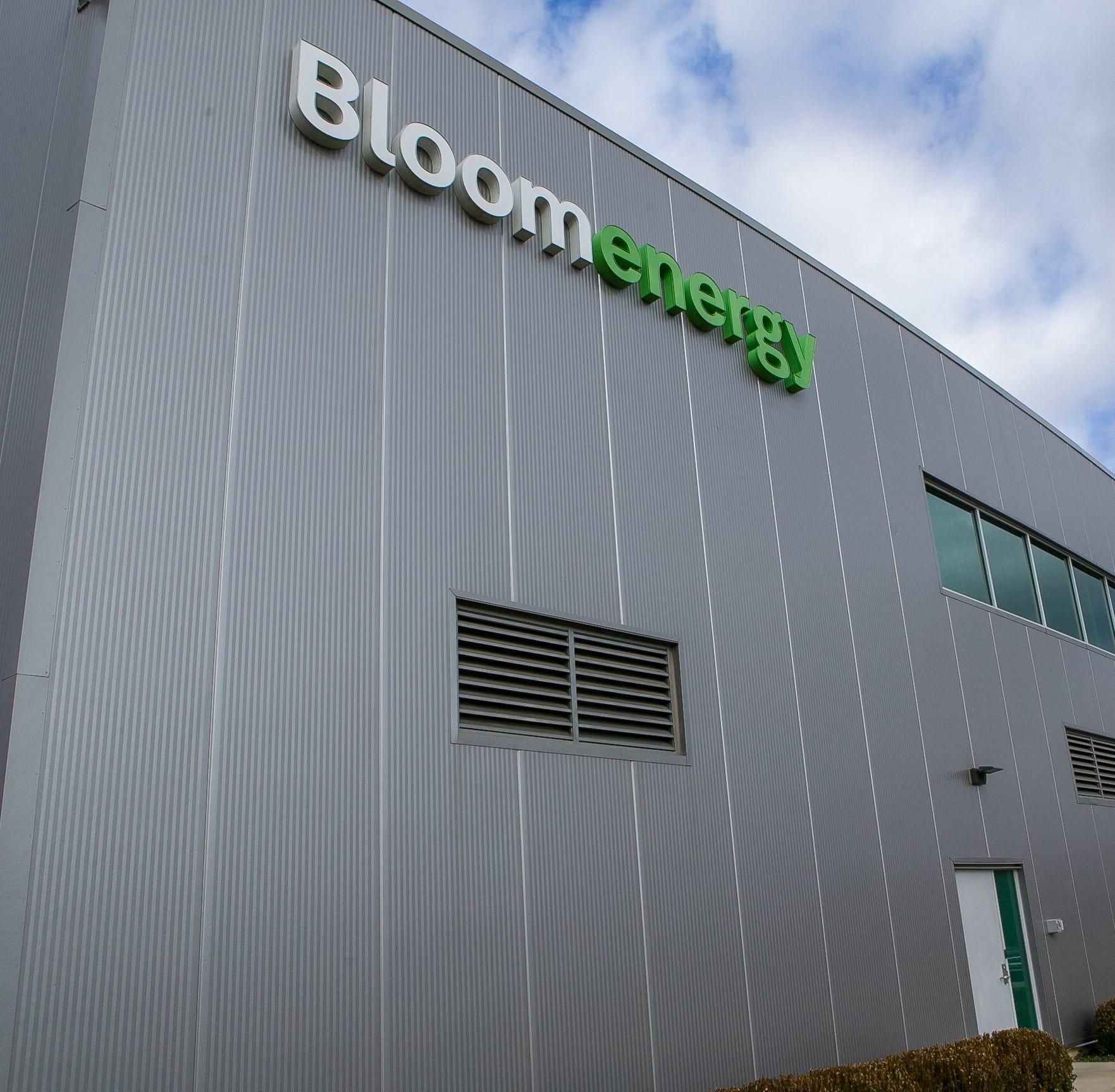 Bloom Energy facility in Newark, Del.