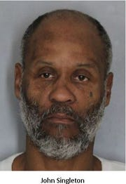 John Singleton, a 54-year-old from Wilmington, was charged with seven counts of first-degree robbery.