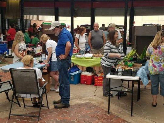 File - The Wichita Falls Farmers Market