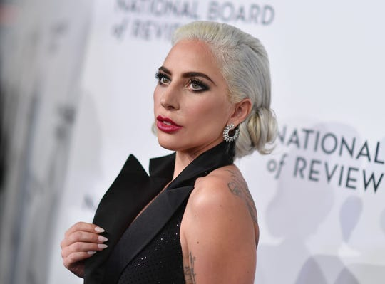 Lady Gaga attends the 2019 National Board Of Review Gala on Jan. 8, in New York City.