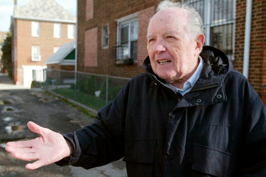 On this Nov. 20, 2003 file photo, Jakiw Palij, a ancient Nazi focus camp guard, stands in entrance of a building within the Queens borough of Fresh York. Palij, a ninety five-yr-venerable ancient Nazi focus camp guard used to be deported to Germany, 14 years after a purchase ordered his expulsion. I