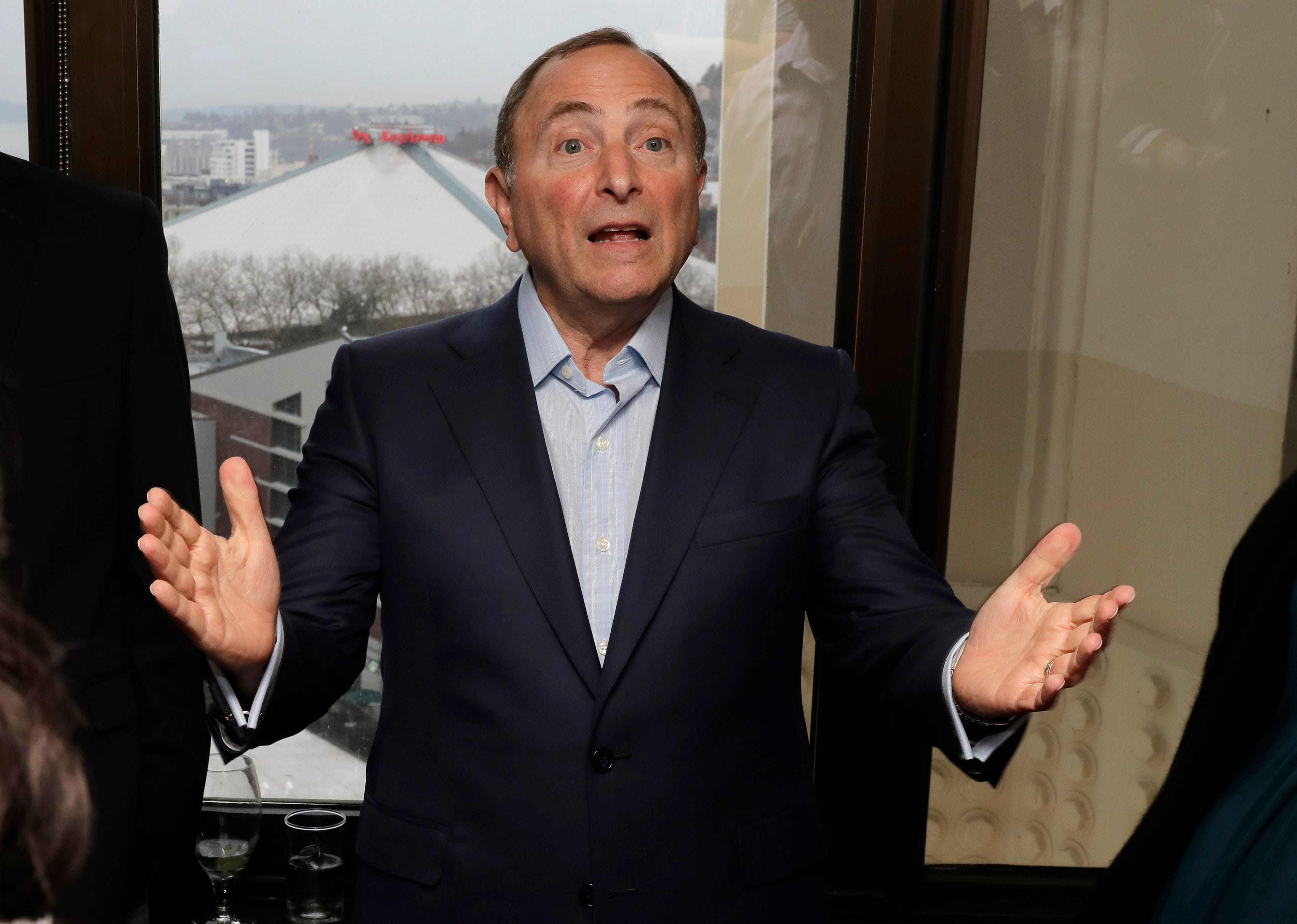 Gary Bettman: Seattle will host NHL draft, All-Star weekend within first seven years
