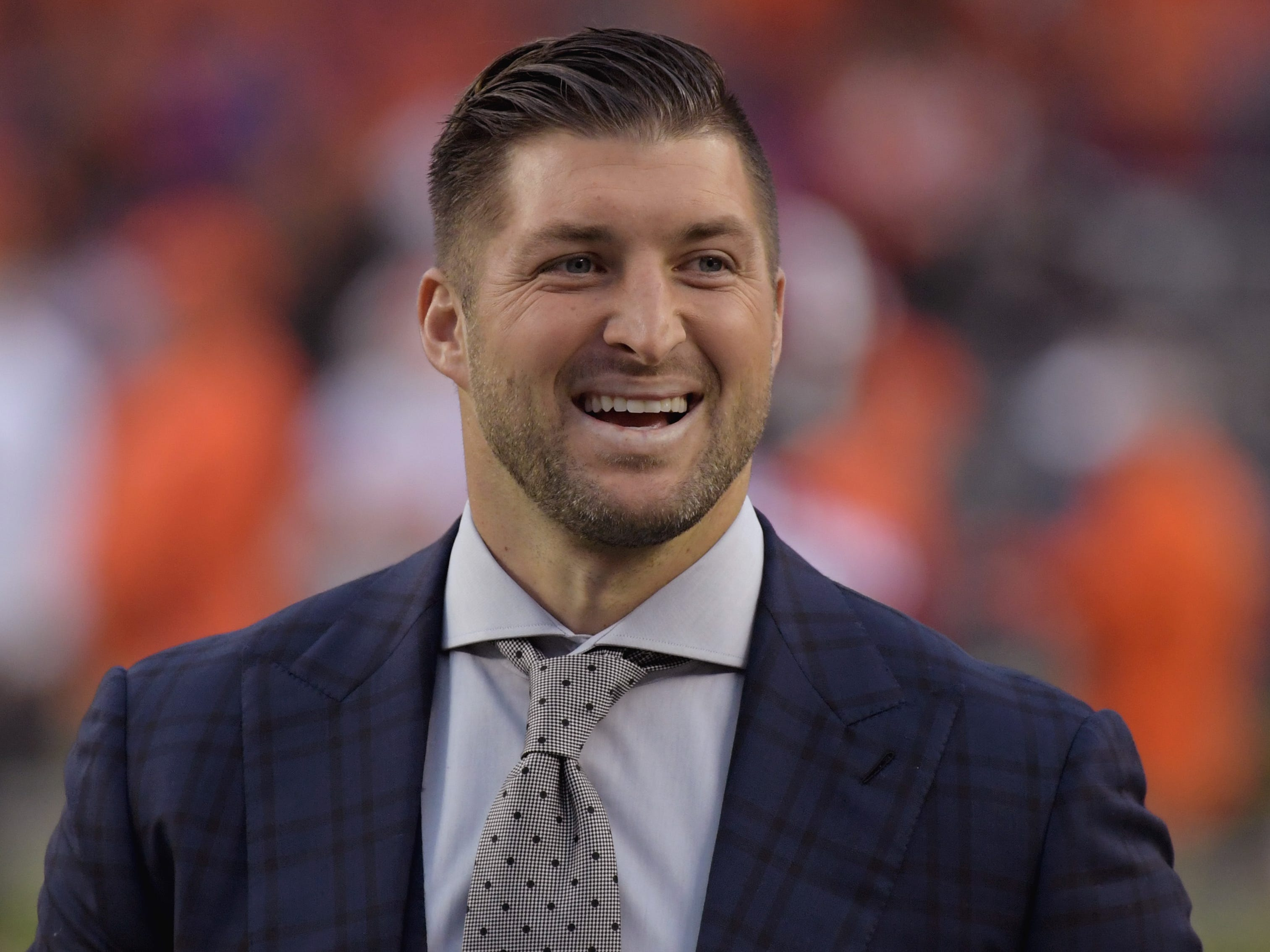Tim Tebow is engaged to a former Miss Universe.