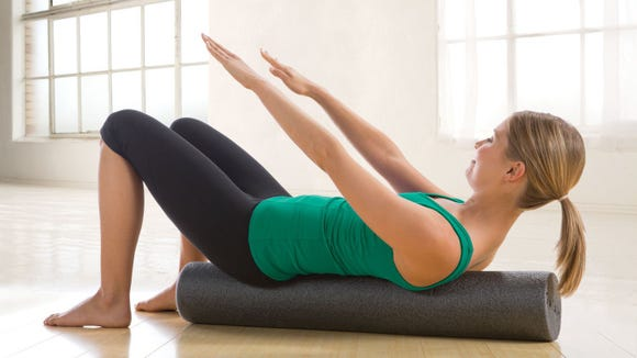 Foam rollers are great for pre- and post-workout muscle support.