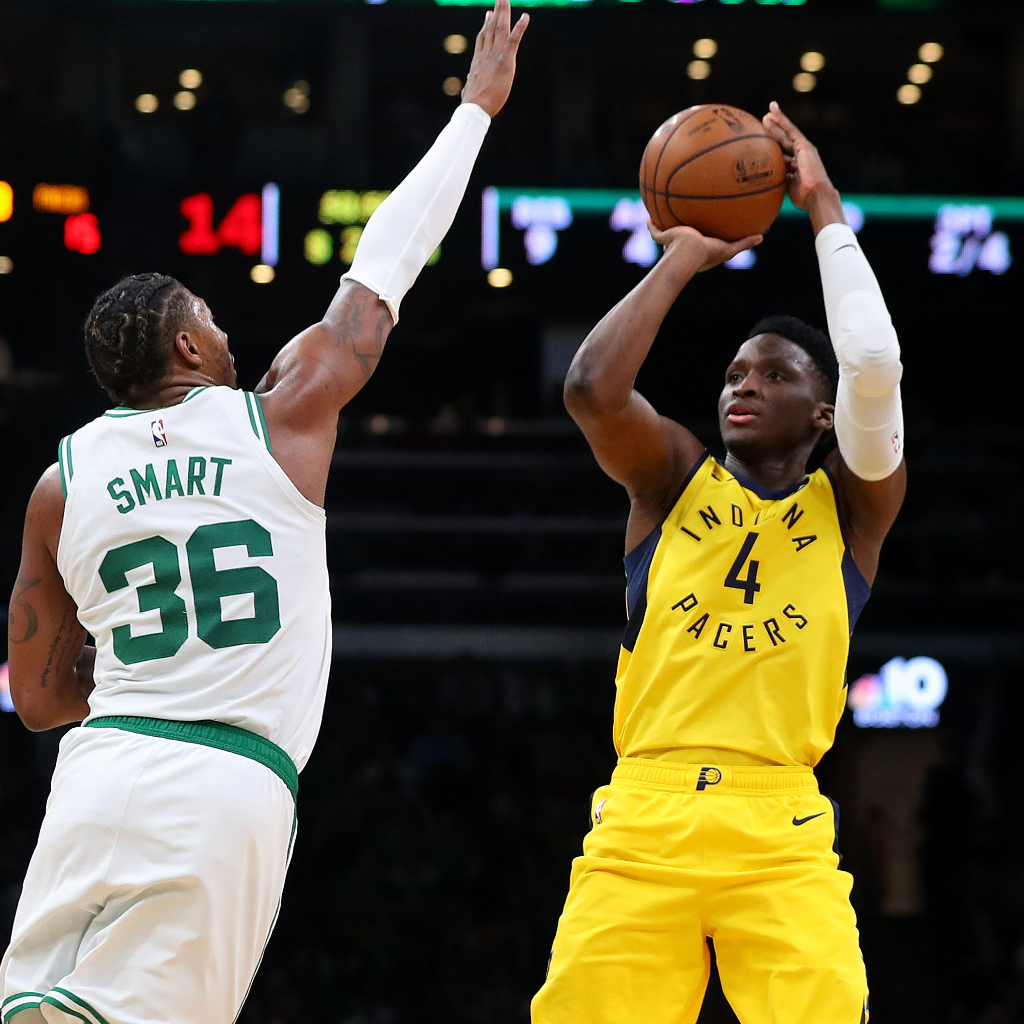 Victor Oladipo on Pacers' lopsided loss to Celtics: 'We sucked tonight. Period.'
