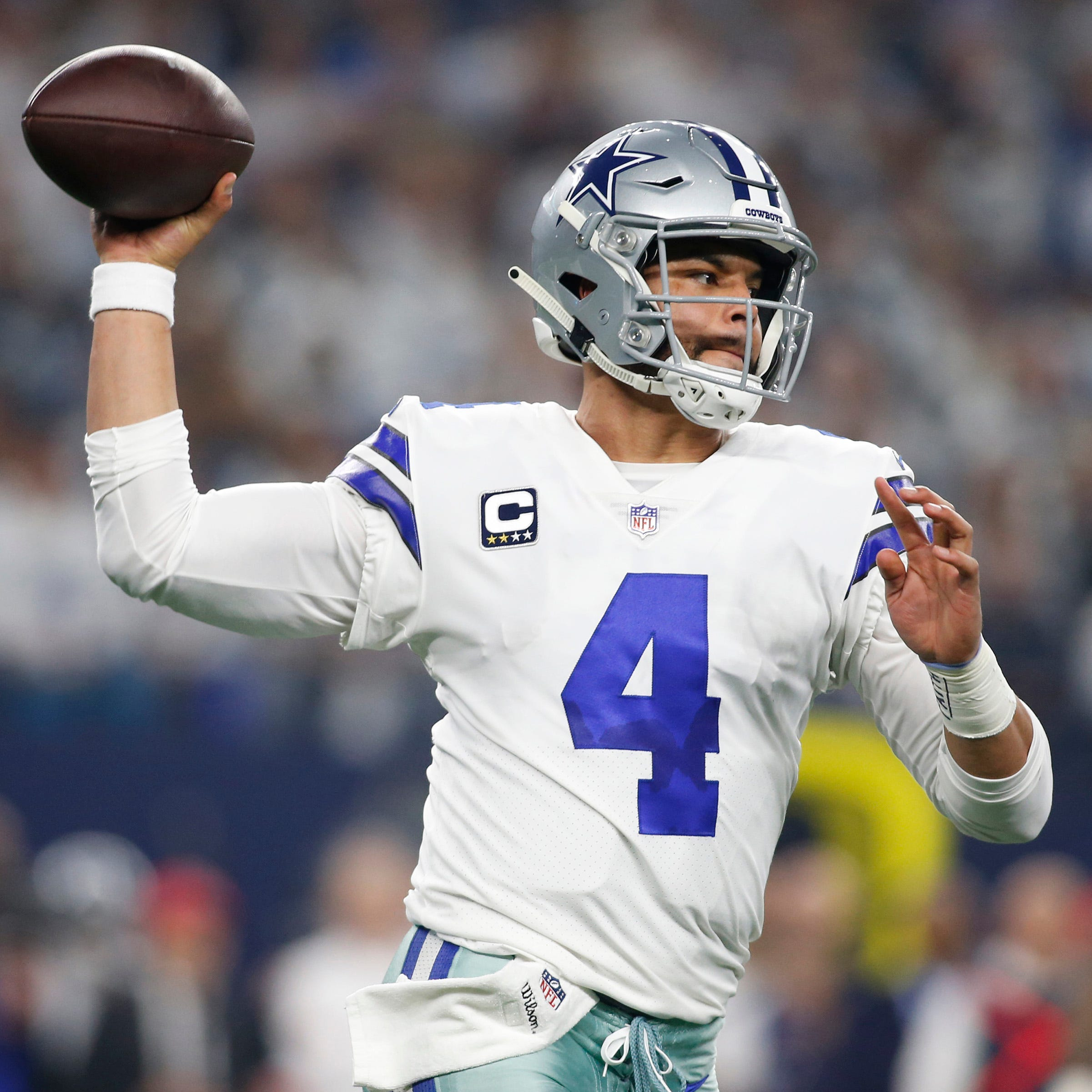Dak Prescott has a chance to take the Cowboys to their first NFC title game since the 1995 season.