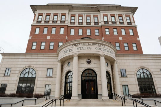 The Hon. Charles L. Brieant Jr. Federal Building and Courthouse in White Plains, N.Y., houses the U.S. bankruptcy court.