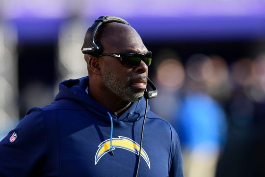 Head coach Anthony Lynn has led the Chargers to a 12-4 record with a divisional playoff game against the New England Patriots coming up.