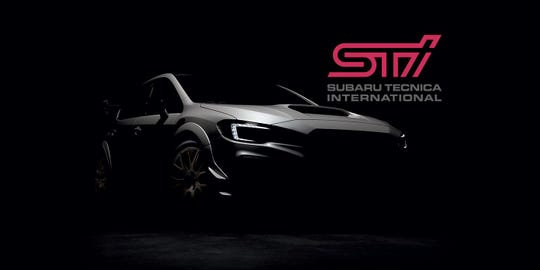 Subaru released this teaser image of the WRX STI S209, which will debut at the 2019 Detroit auto show.