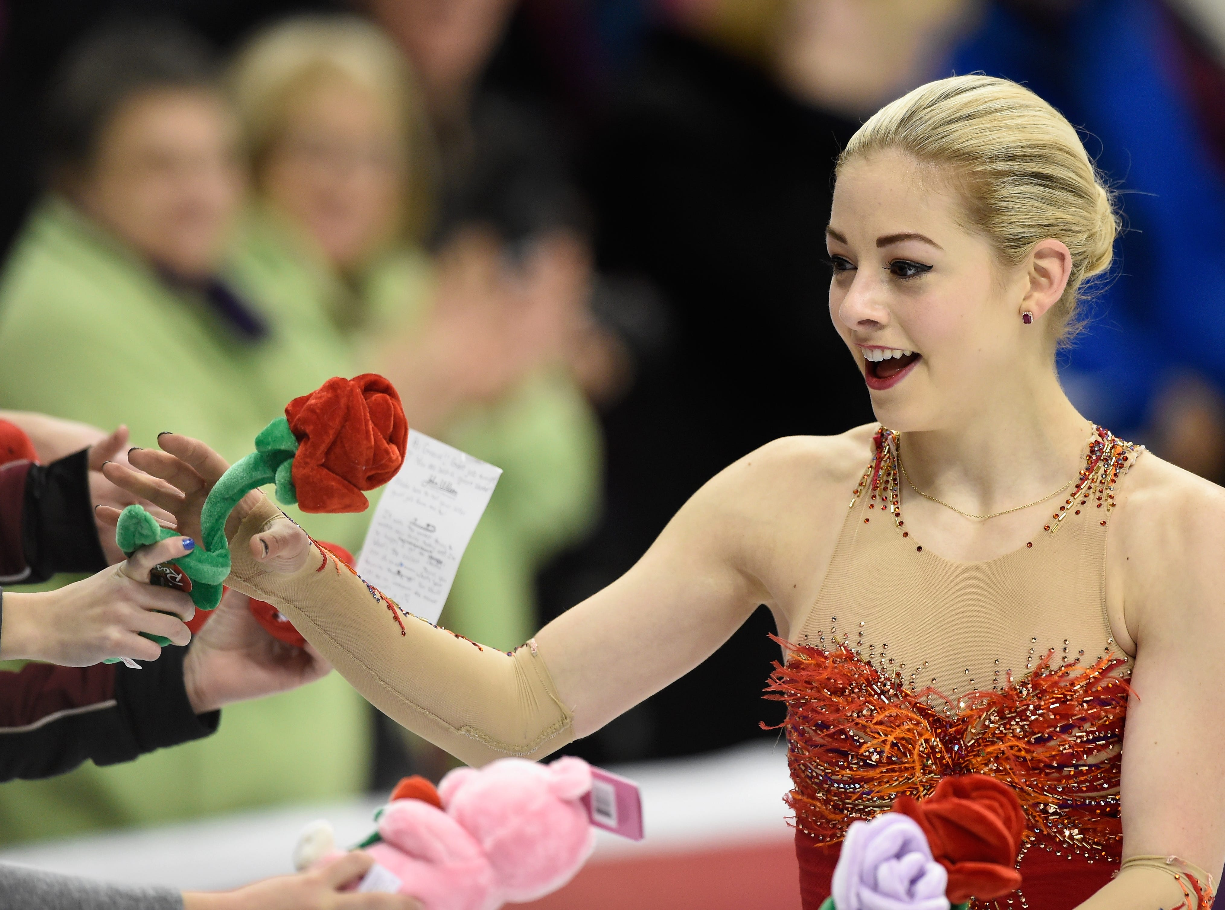 Gracie Gold won her third national title at the 2016 Prudential U.S. Figure Skating Championship at Xcel Energy Center in St Paul.