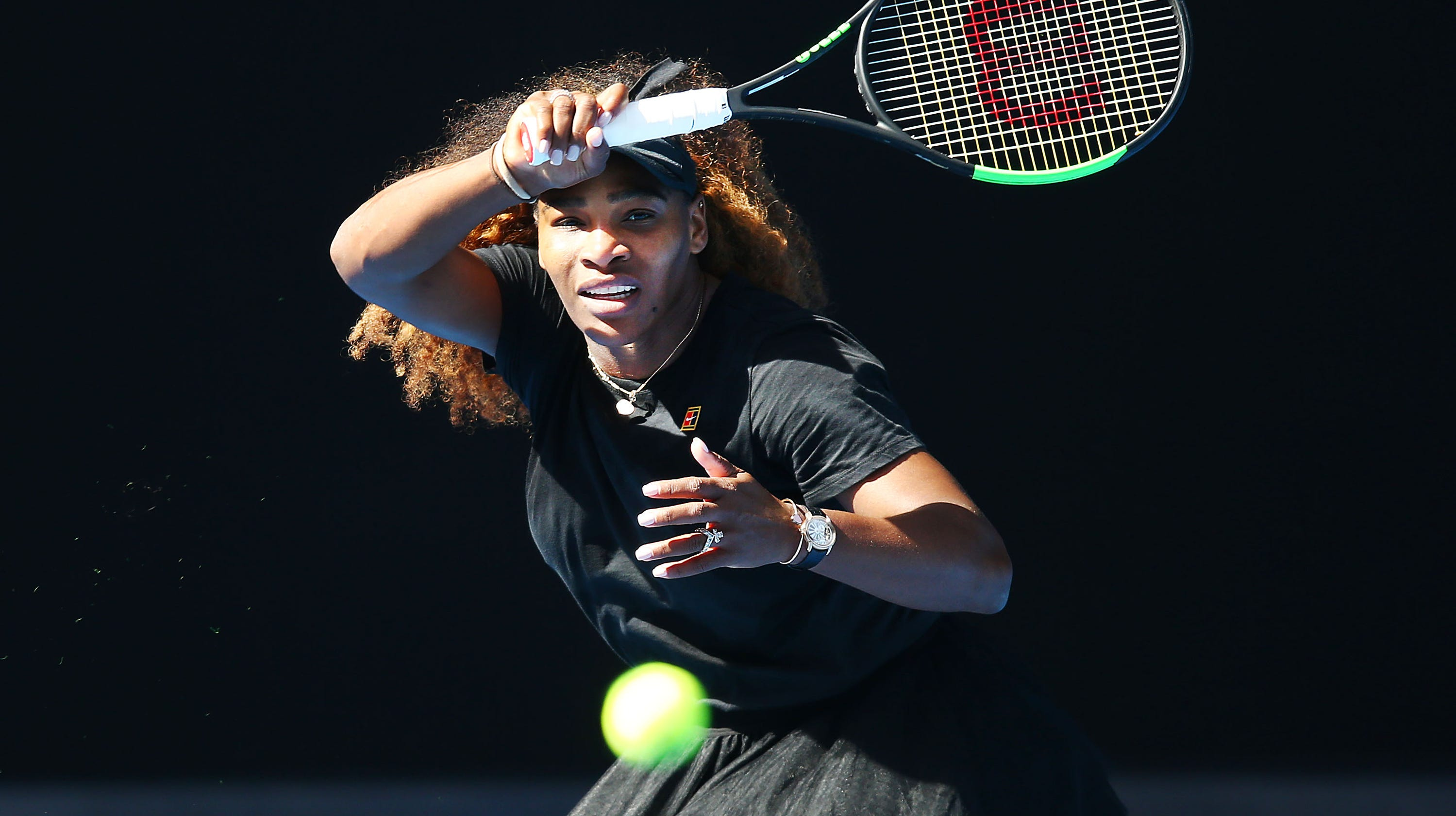 Serena Williams Naomi Osaka Could Meet In Australian Open Semis
