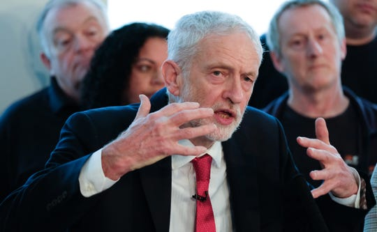 "Three members of the Labour Party resigned after accusing the party and its leader, Jeremy Corbyn, of being — as a former Labour general secretary put it — ""institutionally anti-Semitic."""