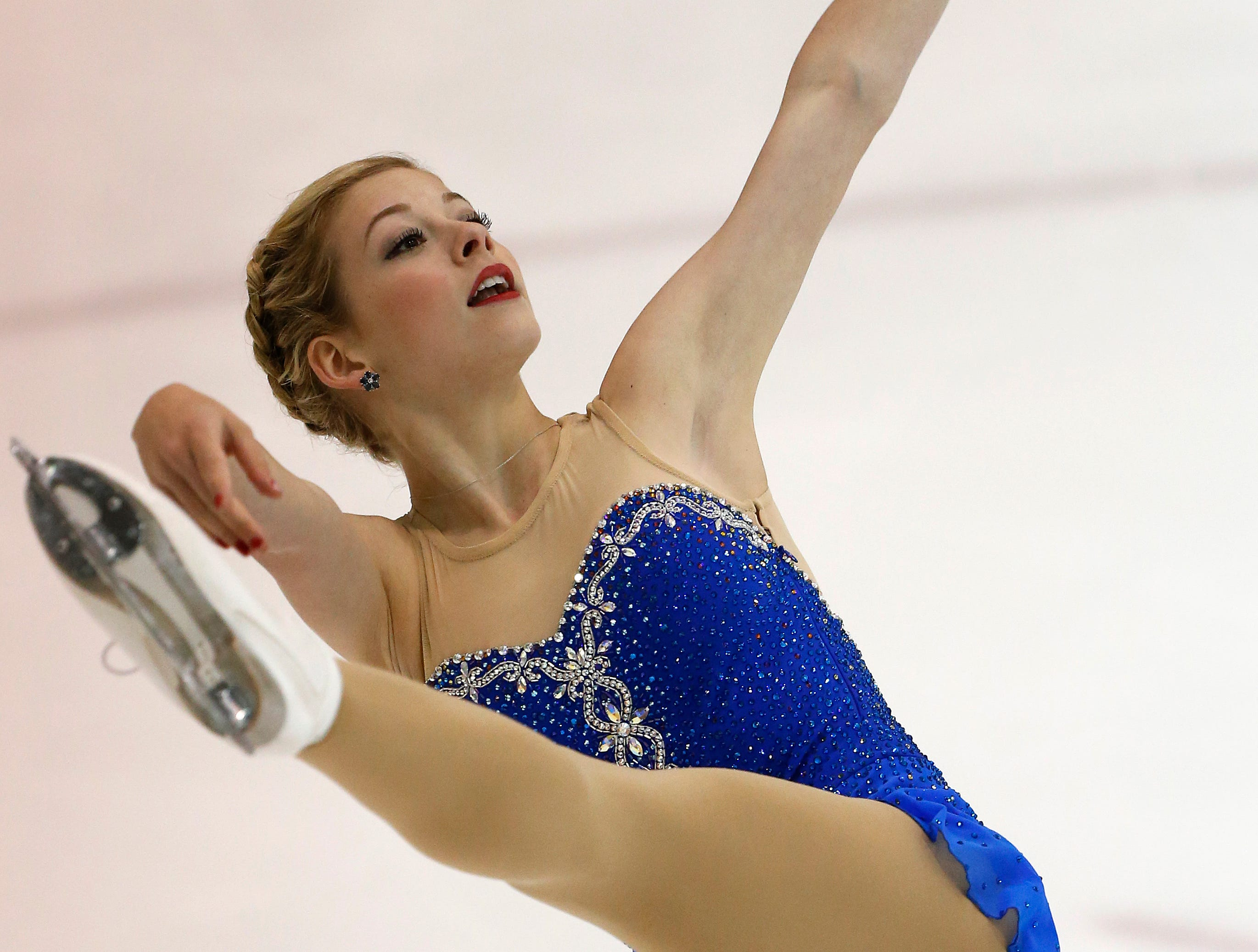 Gracie Gold began skating at age 8 and has a twin sister who also competed in the sport. Here Gold is shown at the 2012 U.S. International Figure Skating Classic in Salt Lake City, Utah.