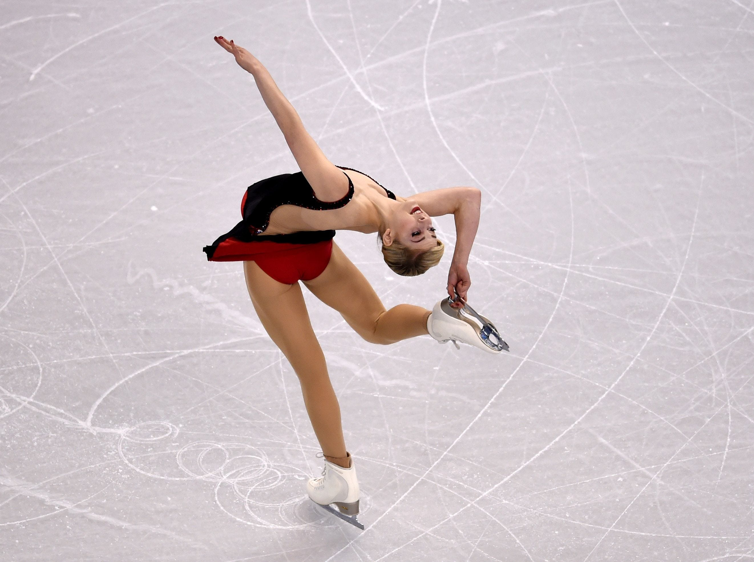 In 2016, Gracie Gold led after the short program but finished fourth at the ISU World Figure Skating Championships at TD Garden in Boston.