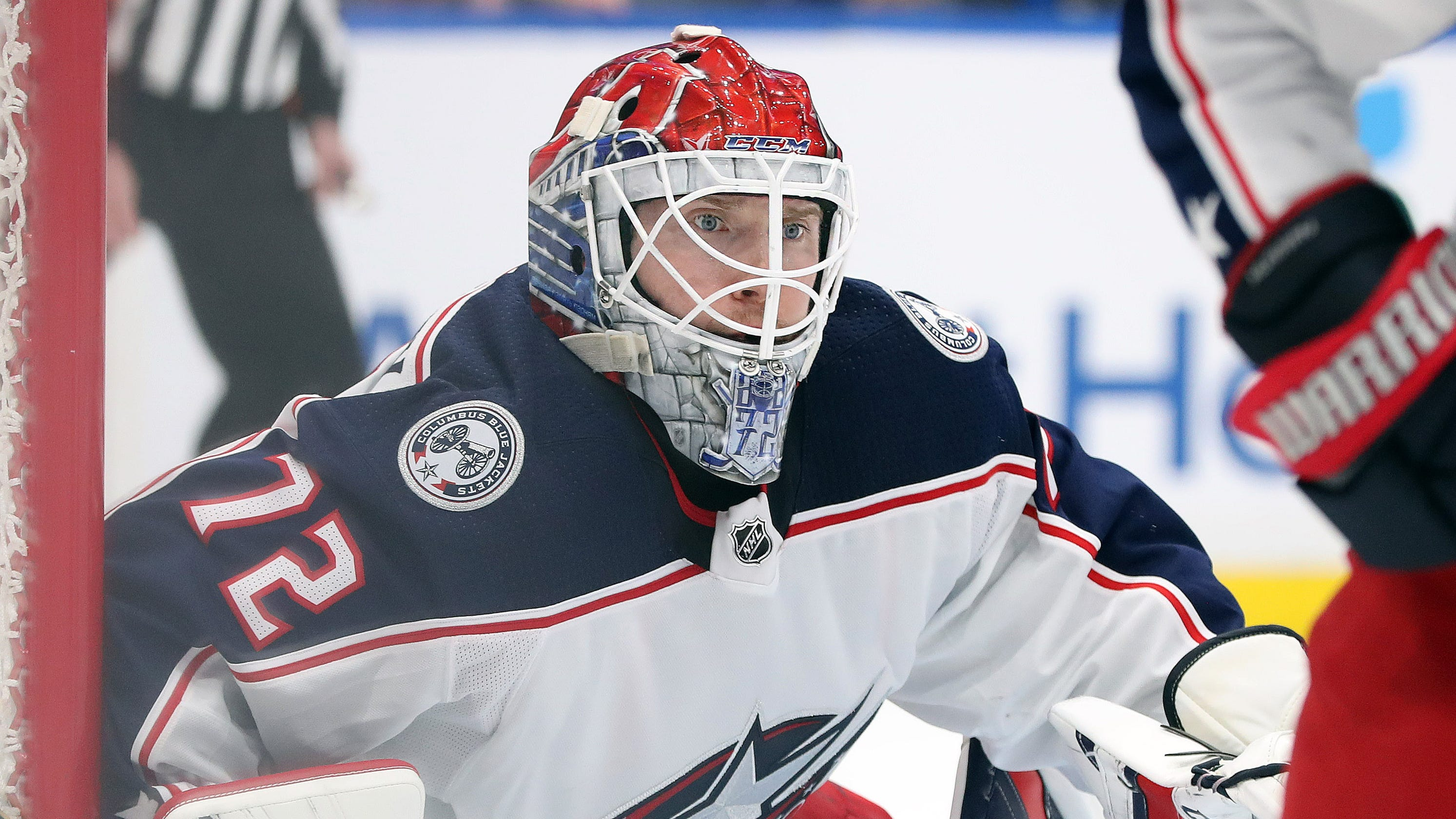 84c24be4537 Blue Jackets take goalie Sergei Bobrovsky off roster for failure to meet   expectations and values