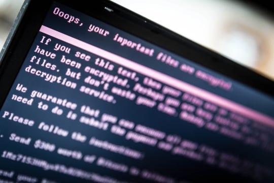 Hacked laptop