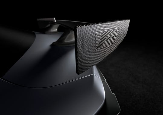 Lexus released this teaser image of the Lexus RC F Track Edition, which will debut at the 2019 Detroit Auto Show.