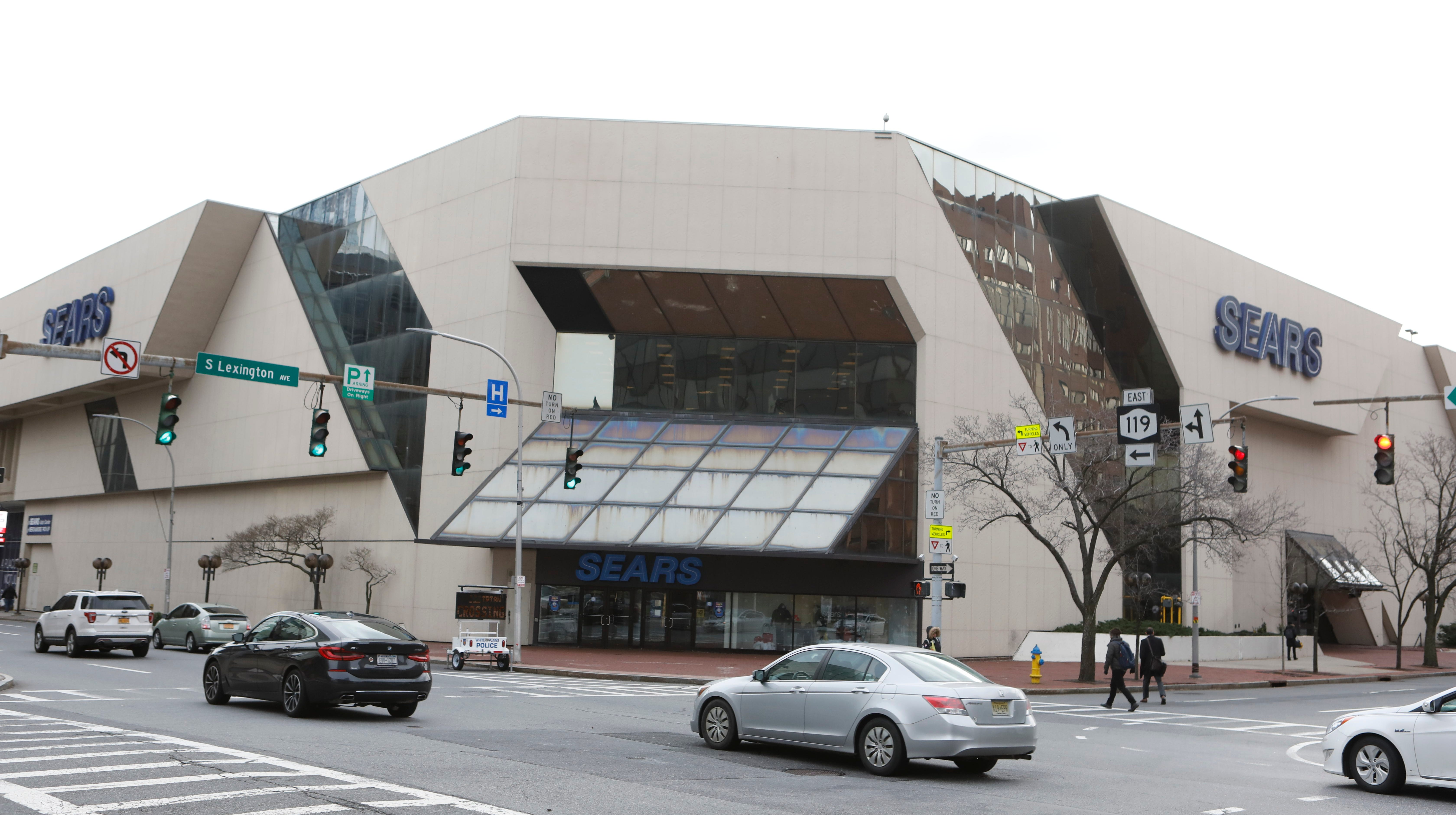 The Sears in White Plains, N.Y., is two blocks from the U.S. bankruptcy court.
