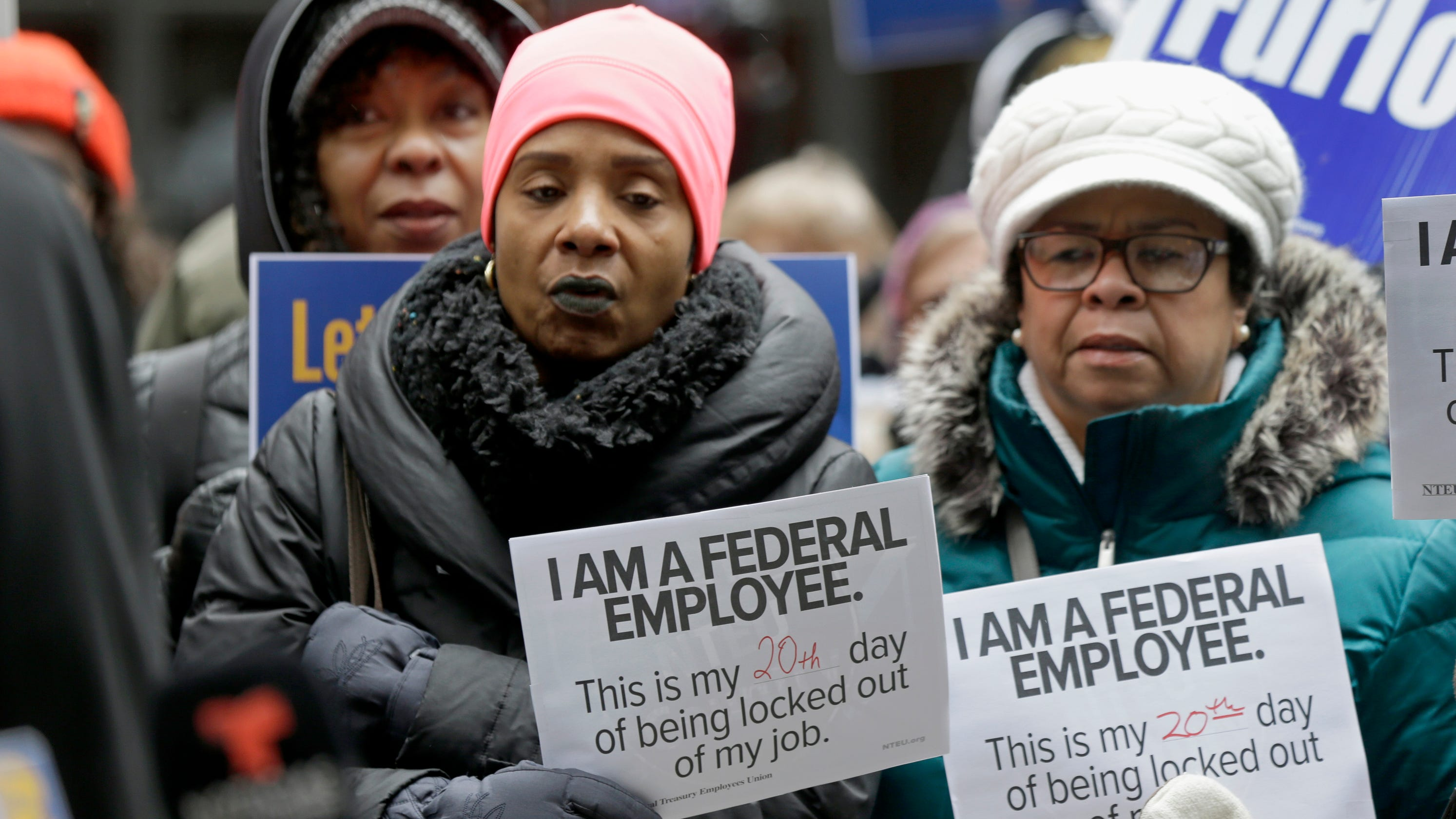 Paychecks for thousands of federal workers on hold as government shutdown nears fourth week