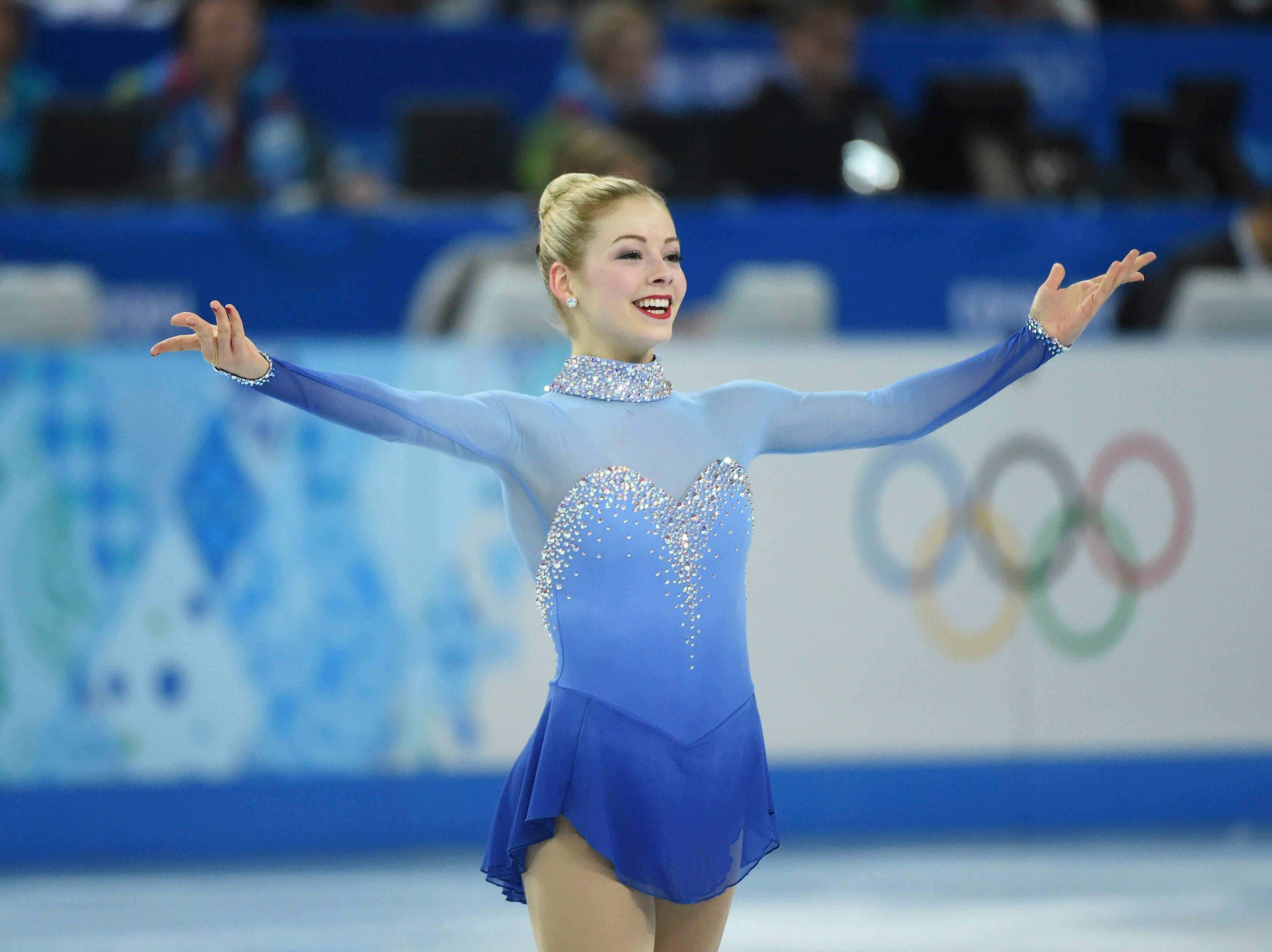 At the 2014 Olympic Games in Sochi, Gracie Gold finished fourth in the women's competition.