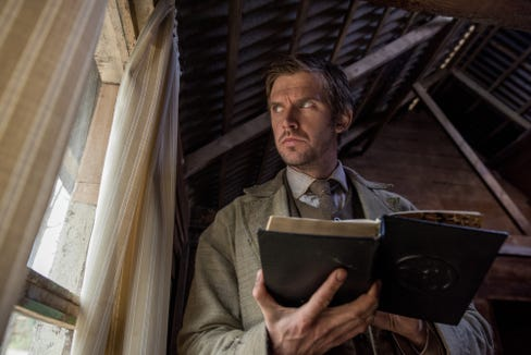 """An Englishman (Dan Stevens) goes undercover in a mysterious cult to find his missing sister in """"Apostle."""""""