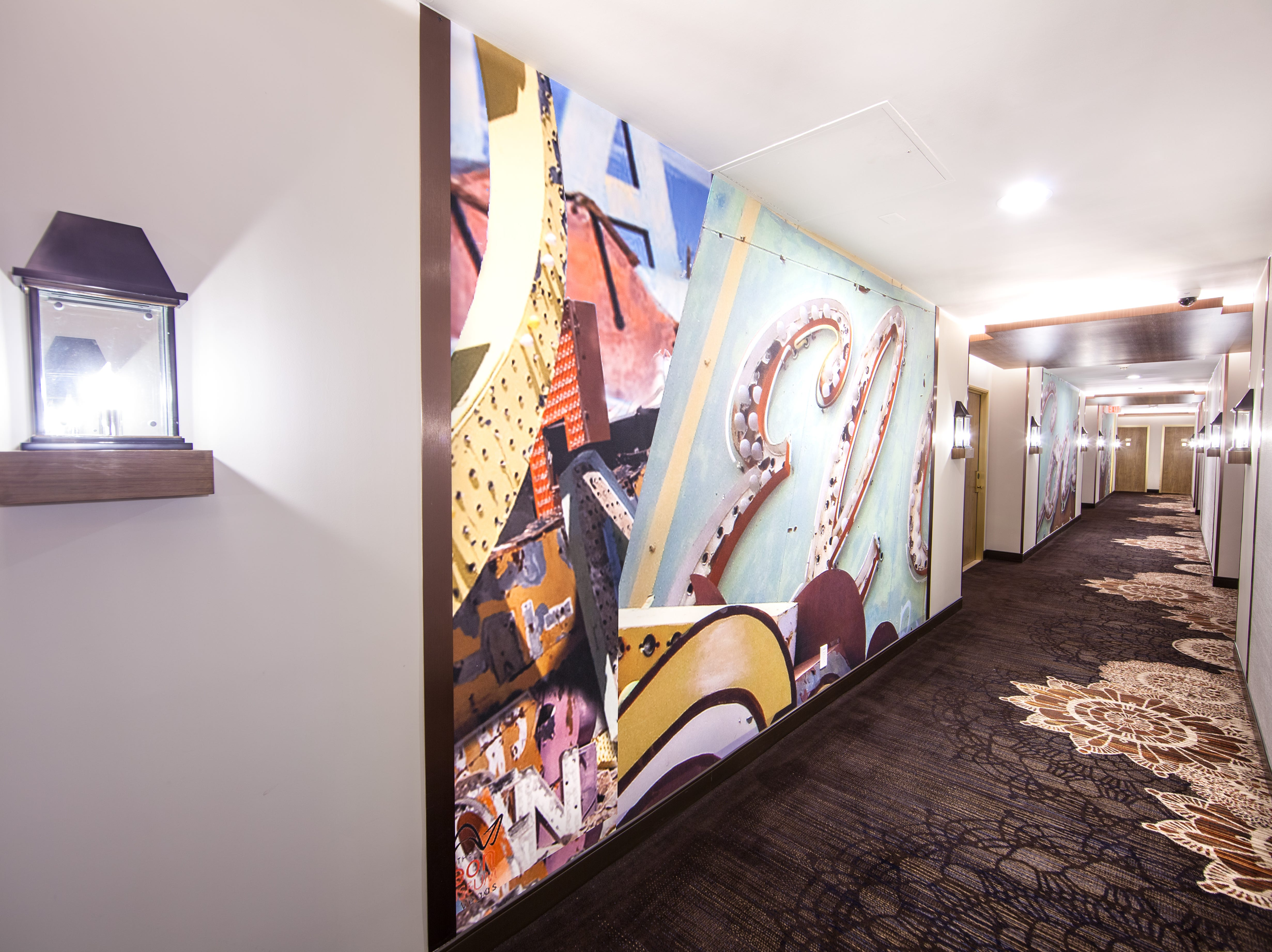 The historic El Cortez Hotel & Casino in Downtown Las Vegas just debuted its newly renovated Tower Premium rooms with redesigned hallways.