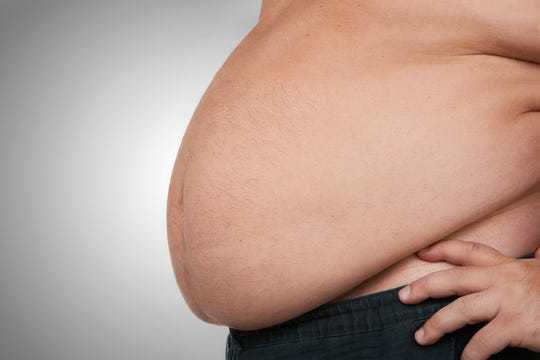 A new study published in Neurology links belly fat with lowest brain volume.