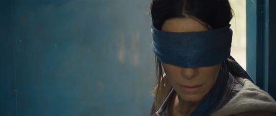 "Seeing = dying in the world of ""Bird Box."""