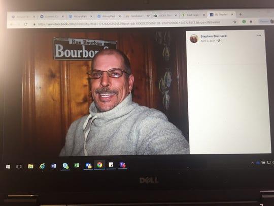 Stephen Biernacki on his Facebook, as it appeared on Jan. 11, 2019.