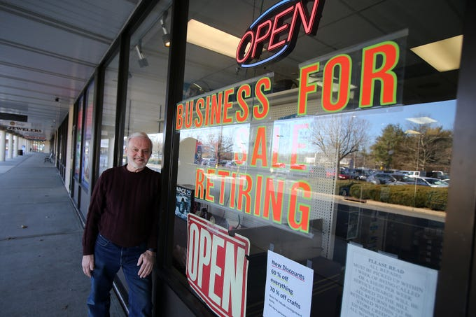 Frank Gustafson, owner of Jackson Hobby Shop, talks about retiring and closing after 50 years at Jackson Hobby Shop in Jackson, NJ Friday January 11, 2019.