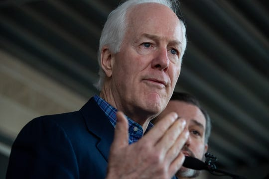 Republican U.S. Sen. John Cornyn of Texas will seek his fourth term in Washington, D.C., in November 2020.