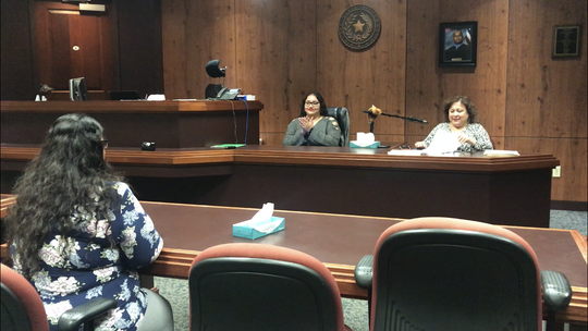 A 30-year-old woman graduated from the Nueces County Family Drug Treatment Court on Jan. 10, 2019.