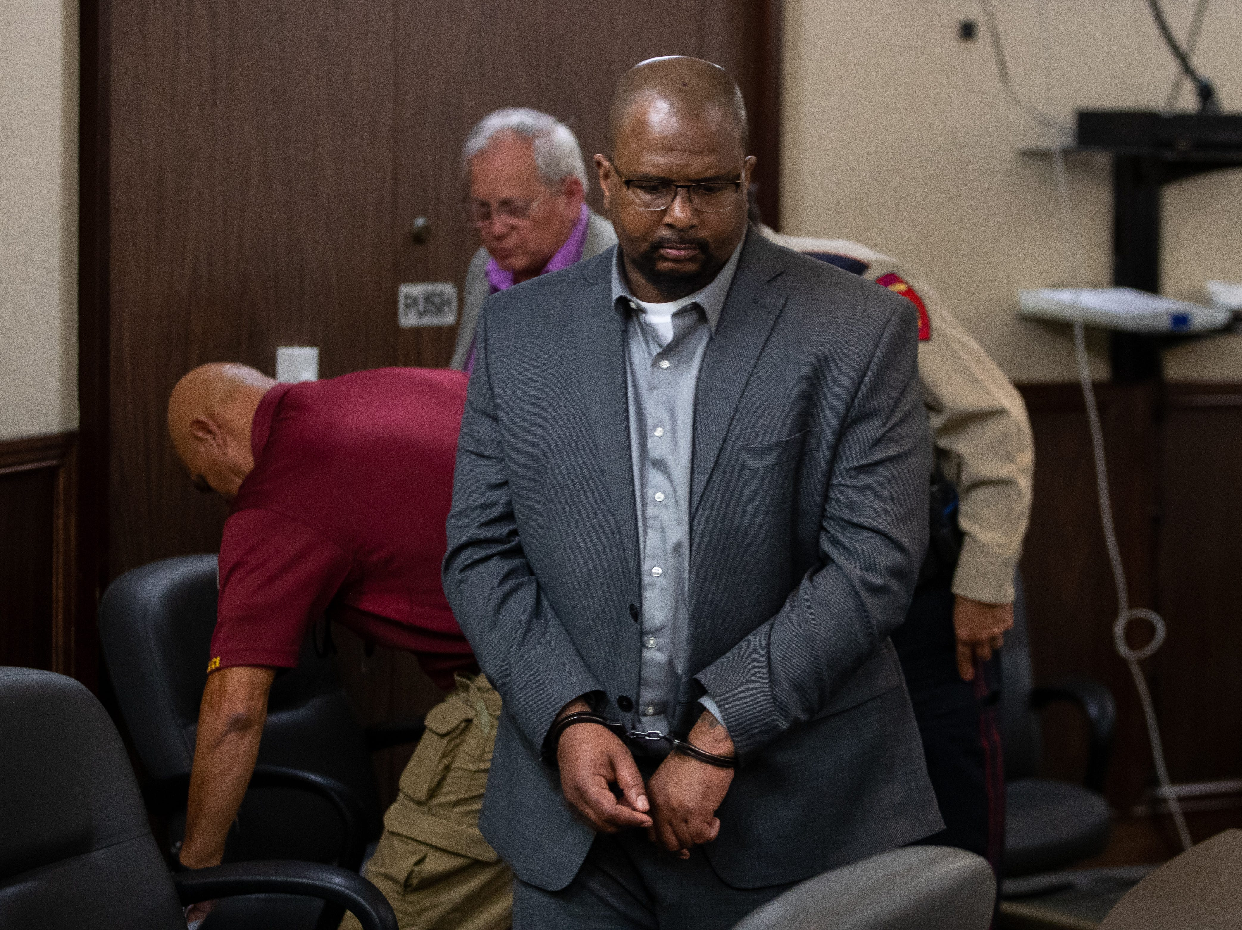 Elton Wayne Holmes is found guilty on three charges on  Friday, January 11, 2018. Holmes was found guilty in the hit-and-run that left Rai-ane Garza, a King High School student dead.