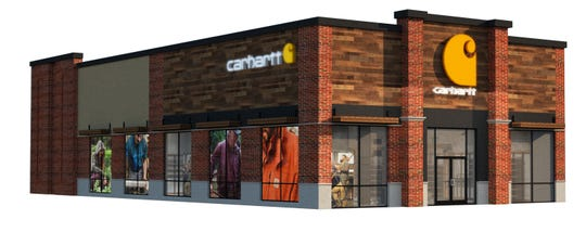 Carhartt, a Michigan-based chain that sells 'workwear' is opening its first New Jersey store in Cherry Hill.