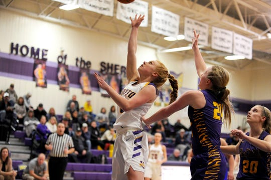 Unioto High School's girls basketball team ranked No. 13 in the latest Division II AP poll as they are 16-2 on the season and 12-0 in the SVC.