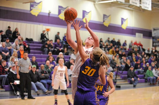 Unioto High School girls basketball defeated Greenfield McClain at home 57-40 on Thursday to move to 10-2 on the season.