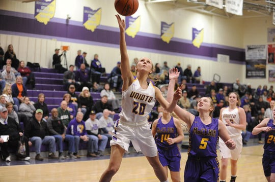 With the high school basketball regular season concluding soon, the league races are almost wrapped up – but not quite.