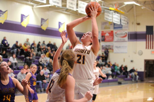Jocie Fisher was voted onto the All-Gazette first team after leading Unioto to an SVC Gold Ball this past season.