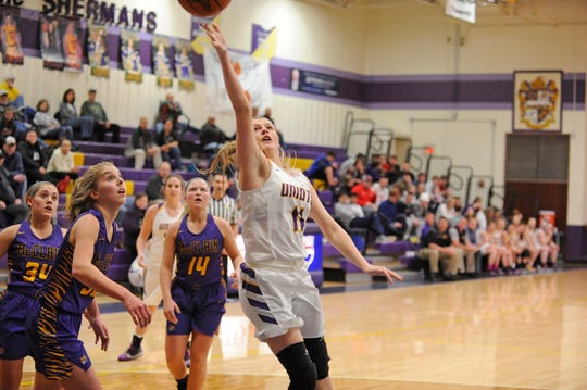 Unioto's Emily Coleman is nominated for the Chillicothe Gazette's Athletes of the Week after scoring 23 points against Greenfield McClain on Thursday.