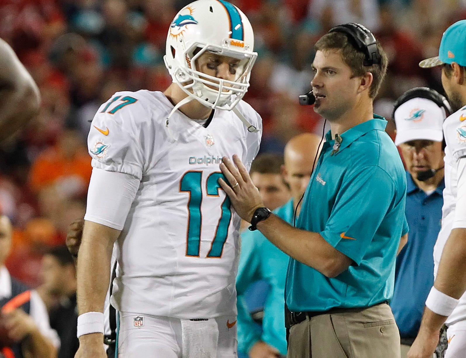 Taylor has been praised for his work in Miami in helping to develop Ryan Tannehill as an NFL quarterback.