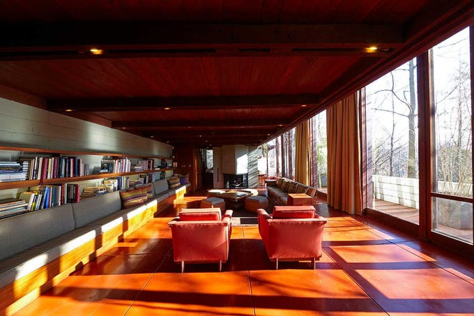The Boulter House in Clifton was designed by Frank Lloyd Wright 1954