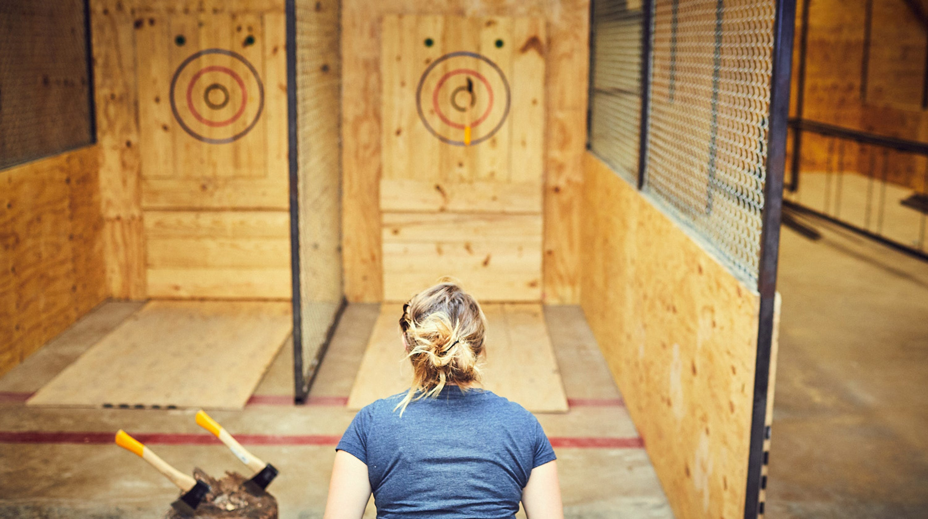 Urban Axes: Date night ideas include ax throwing in Over-the