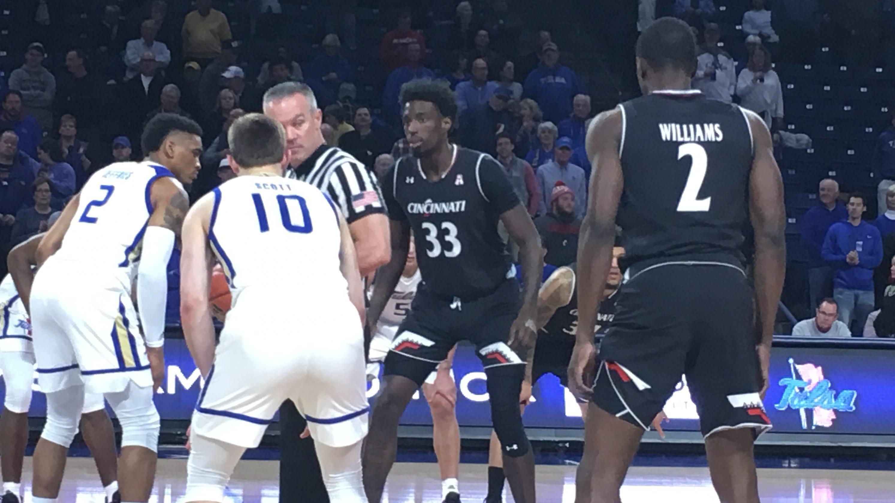 sale retailer 57a84 a0ee9 2019 UC Basketball: Bearcats win OT over Tulsa