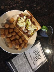 The Graziano sausage sandwich at Five19.