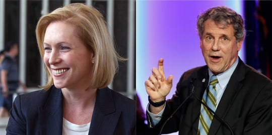 Brown and Gillibrand are both planning trips to Iowa ahead of any 2020 announcements.