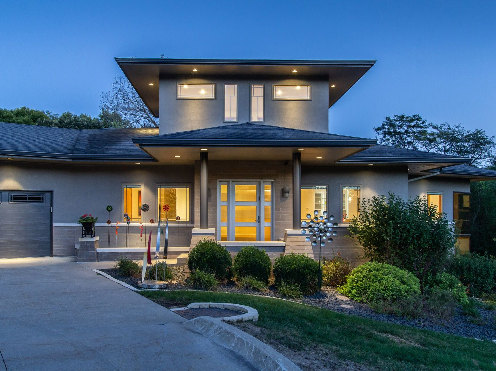 A unique home designed by an award-winning architect is for sale in West Des Moines for $1.19 million.