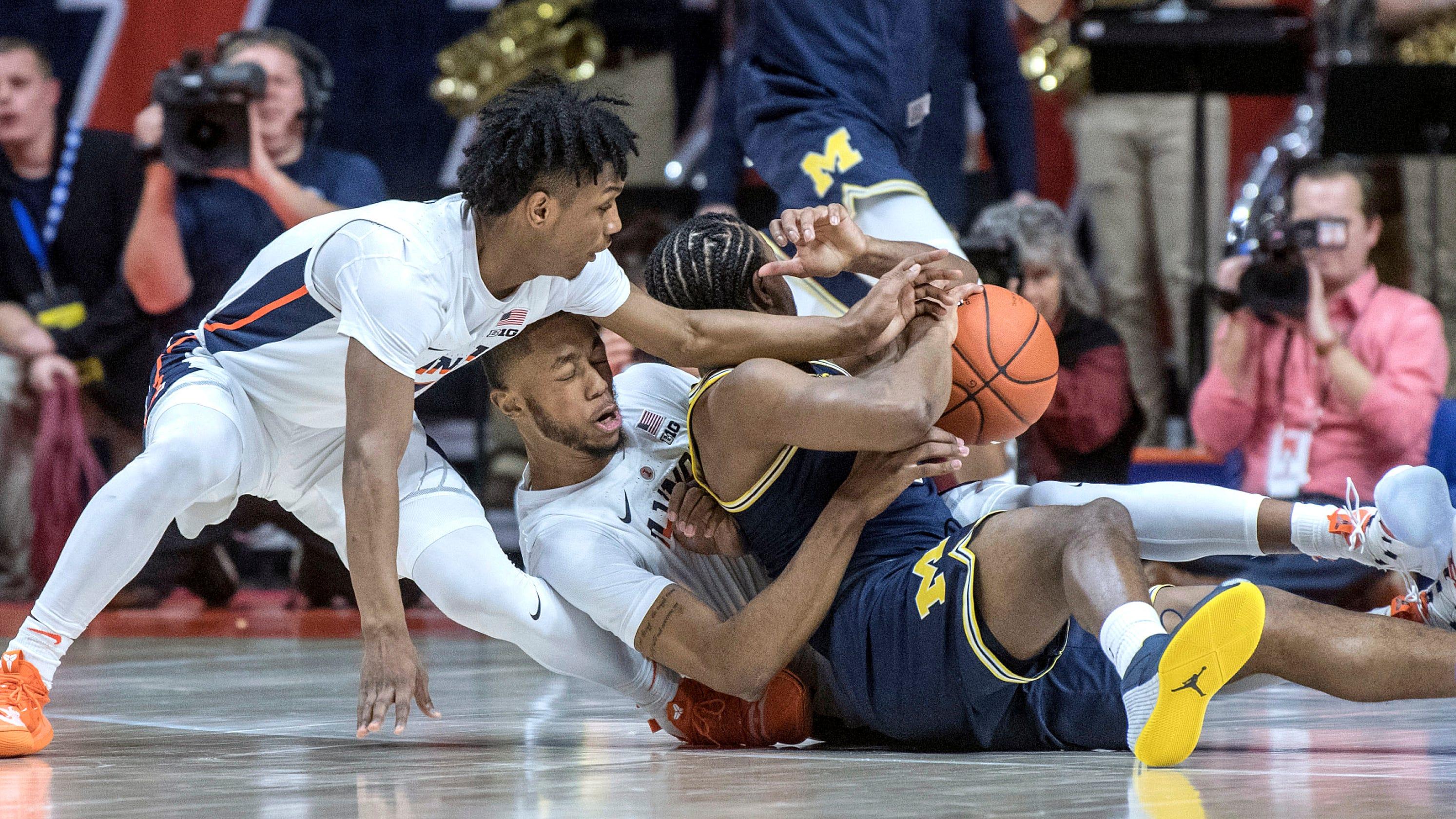 Michigan Basketball 79, Illinois Fighting Illini 69: Photos