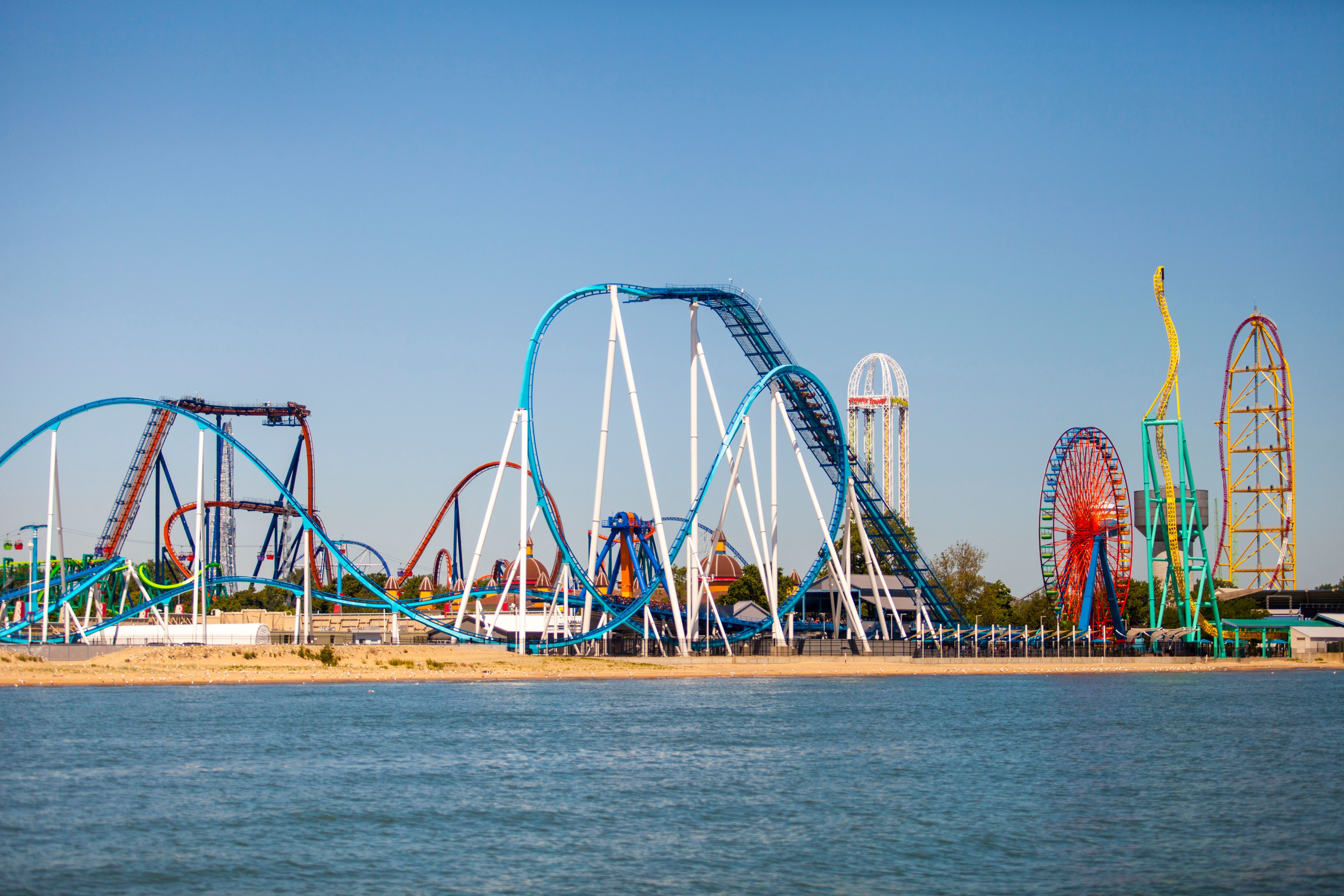 Four people appear to have overdosed at Ohio's Cedar Point amusement park July 16, 2019.