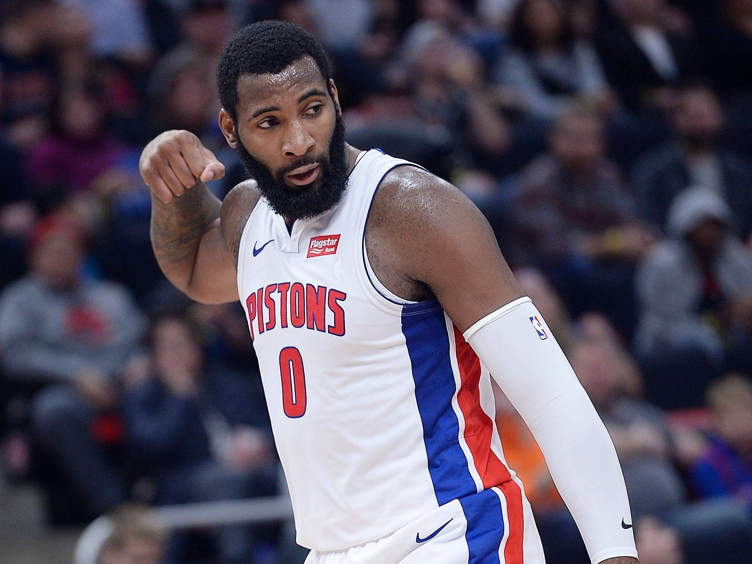CENTERS -- Andre Drummond -- Stats: 16.8 pts., 15 rebs., 1.8 blks. in 41 games. Age: 25. It could be another All-Star selection for Drummond, if the Pistons are able to improve their record. His numbers are similar to his previous two selections, and he still leads the league in rebounding, but his shot selection needs to improve. Grade: B
